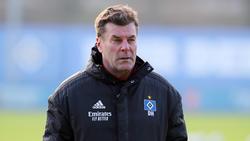 Dieter Hecking will mit dem HSV wieder in die Bundesliga aufsteigen