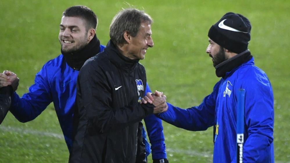 Marvin Plattenhardt schwärmt über Jürgen Klinsmann als Hertha-Trainer