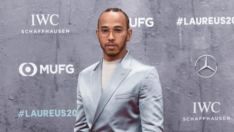 Outete sich als Messi-Fan: Formel-1-Weltmeister Lewis Hamilton
