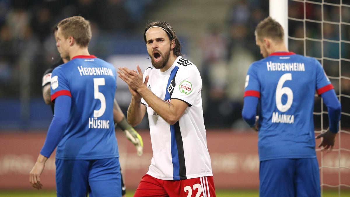 Der HSV und der 1. FC Heidenheim treffen am Sonntag aufeinander