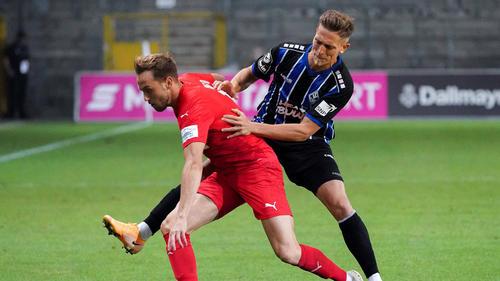 Waldhof Mannheim und Viktoria Köln trennten sich unentschieden