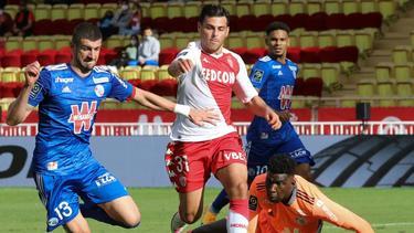 Ligue 1: AS Monaco bezwingt Racing Strasbourg 3:2