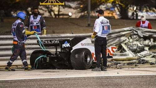 Daniil Kvyat war in die Entstehung des Grosjean-Unfalls involviert