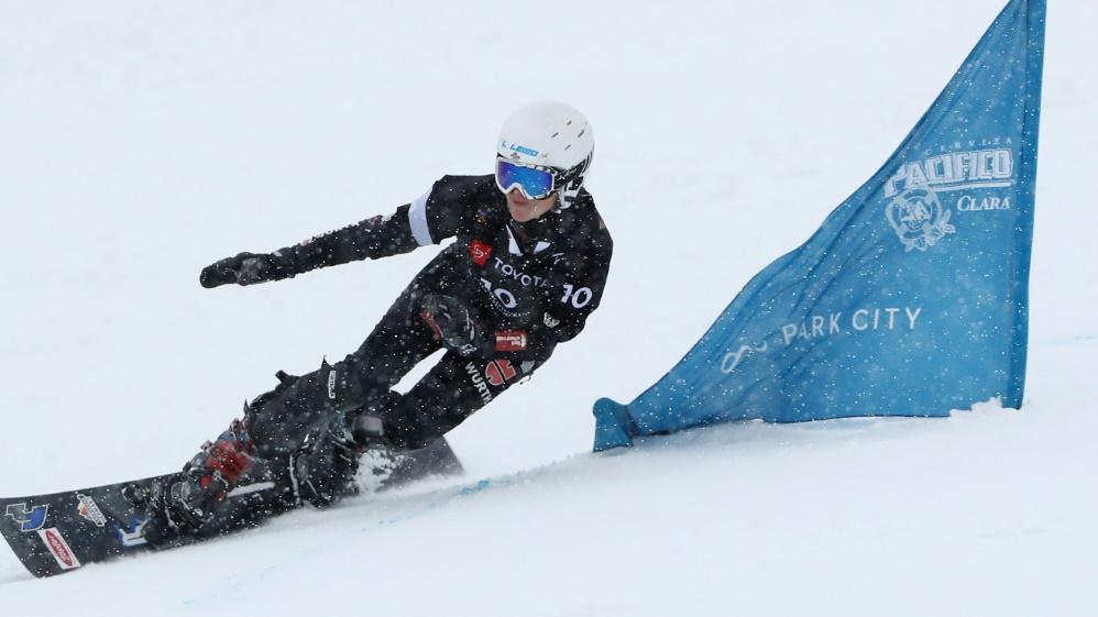 Selina Jörg wird Dritte beim Parallel-Slalom