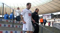 Spielte bis 2007 für Hertha BSC: Rijkhoff-Berater Dick van Burik (l.)
