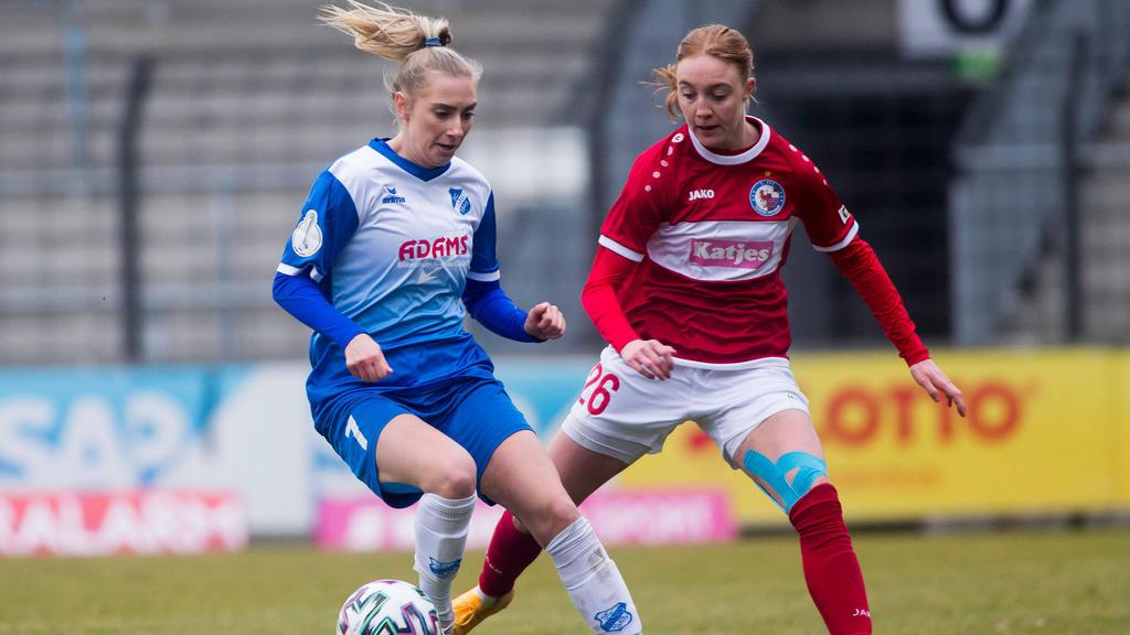 Potsdam müht sich ins Pokal-Viertelfinale