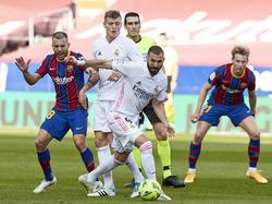 En la ida los blancos fueron superiores al Barça.