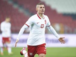 Im polnischen U21-Nationalteam hat Klimala schon öfters sein Potenzial abgerufen