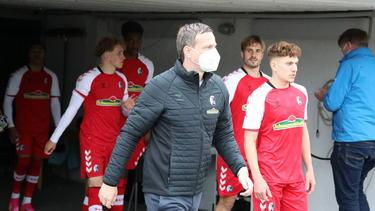 Mit dem SC Freiburg II auf Aufstiegskurs in die 3. Liga: Trainer Christian Preußer