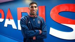 Hakimi wechselte für geschätzte 60 Millionen Euro zu PSG
