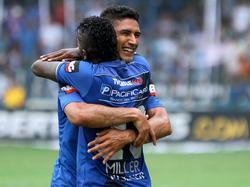 Bolaños feiert seinen Doppelpack in der Copa Libertadores