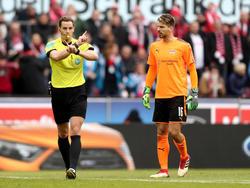Ron-Robert Zieler wurde von Kölner Fans übel beleidigt