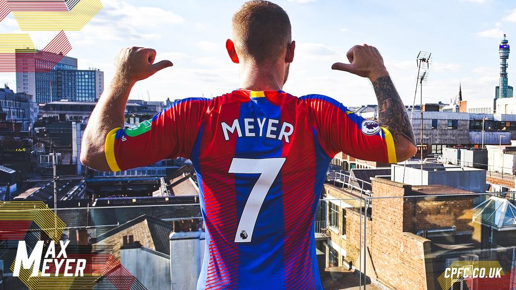 Max Meyer wechselt zu Crystal Palace (Foto: Twitter: Crystal Palace)