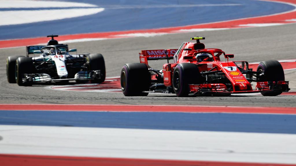 Kimi Räikkönen gewann das Rennen in Austin/Texas für Ferrari