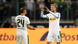 Der Einsatz von Christoph Kramer (r.) gegen den VfB Stuttgart ist noch offen