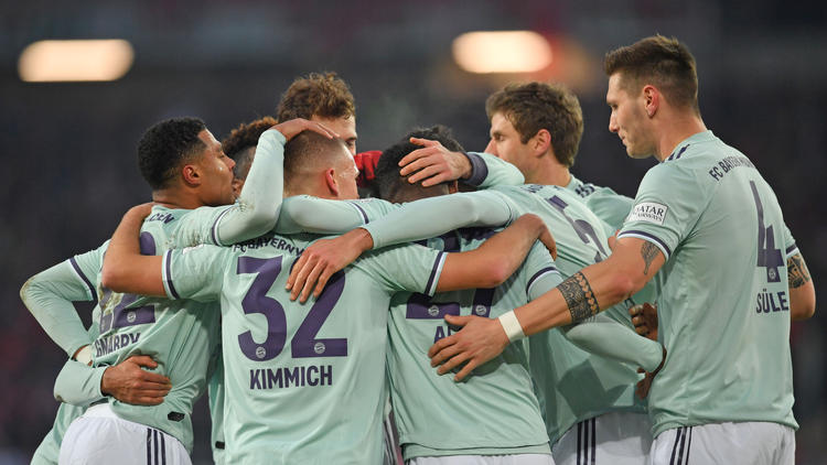 Der FC Bayern hat Hannover 96 keine Chance gelassen