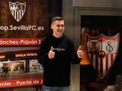 Max Wöber ist spätestens nach seinem erfolgreichen Debüt beim FC Sevilla angekommen. © Sevilla FC