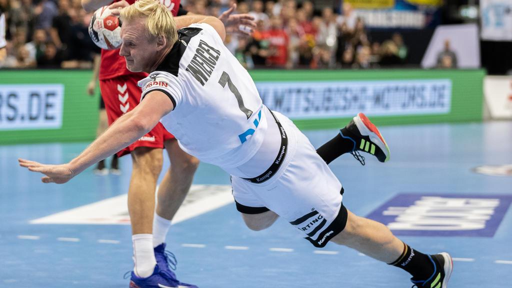 Patrick Wiencek wird als Handballer des Jahres geehrt