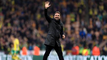 Daniel Farke befindet sich mit Norwich auf Aufstiegskurs