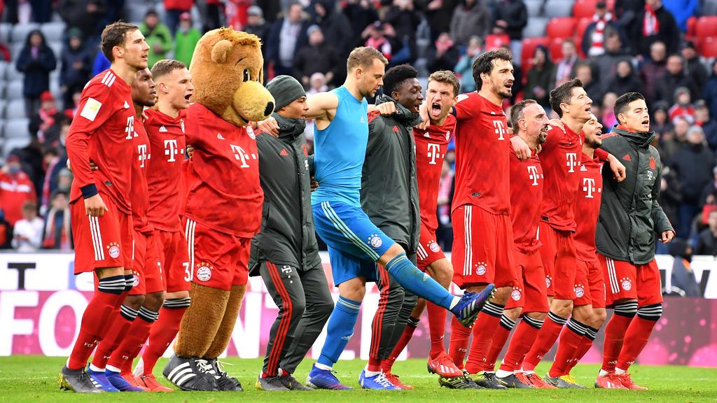Der FC Bayern ist neuer Tabellenführer der Bundesliga