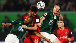 Wolfsburg hat sich einen Punkt gegen Frankfurt erkämpft