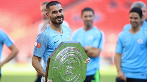 Ilkay Gündogan fühlt sich bei Manchester City wohl