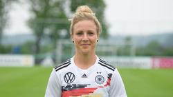 Svenja Huth zog sich eine Verletzung am Fuß zu