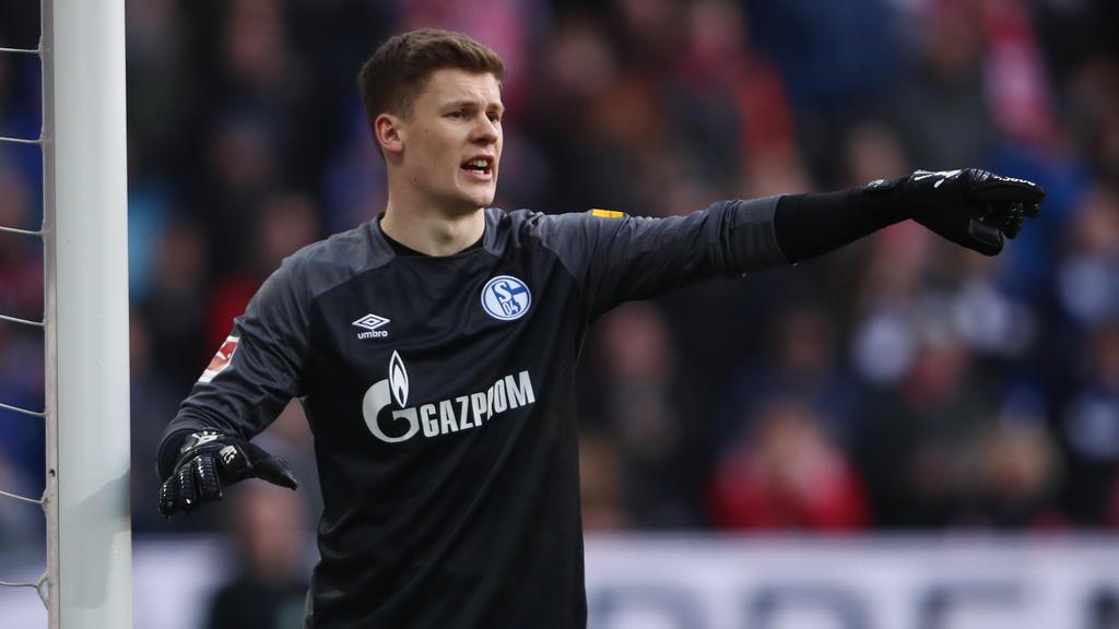 Unter anderem beim FC Bayern auf dem Zettel: Alexander Nübel vom FC Schalke 04