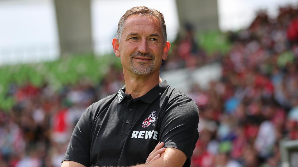 Armin Beierlorzer und der 1. FC Köln setzen auf ein ruhiges Umfeld