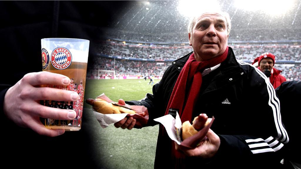 Wie teuer ist das Bier beim FC Bayern?