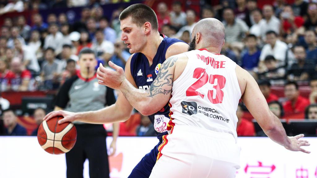 Nikola Jokic und die Serben sind bei der WM überraschend gescheitert