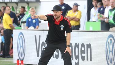 Steffen Baumgart sprach von einer verdienten Niederlage