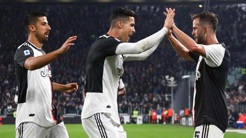 Cristiano Ronaldo volvió a marcar en la Serie A.