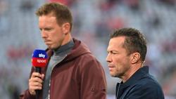 Lothar Matthäus (r.) glaubt, dass der FC Bayern auch in Abwesenheit von Julian Nagelsmann Erfolg hat