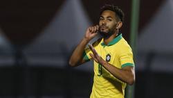 Matheus Cunha von RB Leipzig ist Teil der brasilianischen U23-Nationalmannschaft