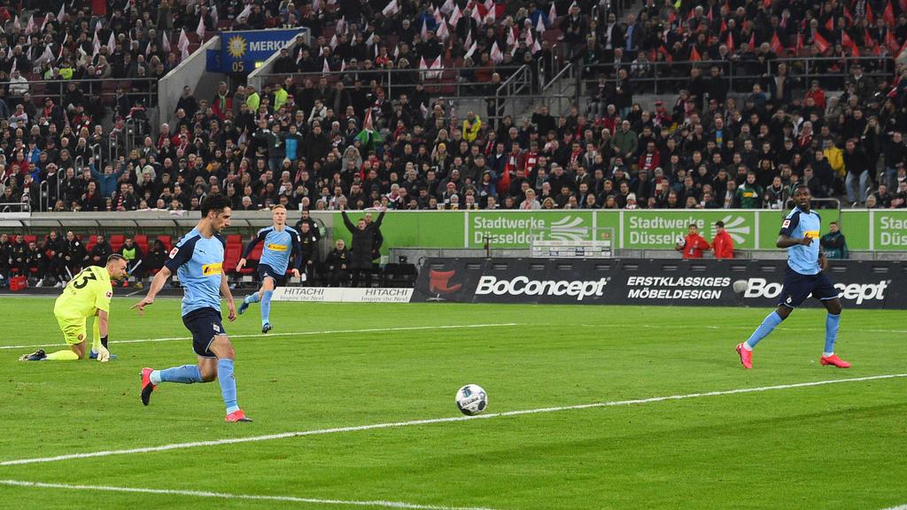Kapitän Lars Stindl avancierte zum Matchwinner für Gladbach