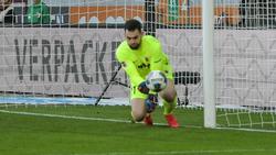 Augsburgs Torwart Tomas Koubek patzte gegen den SC Freiburg