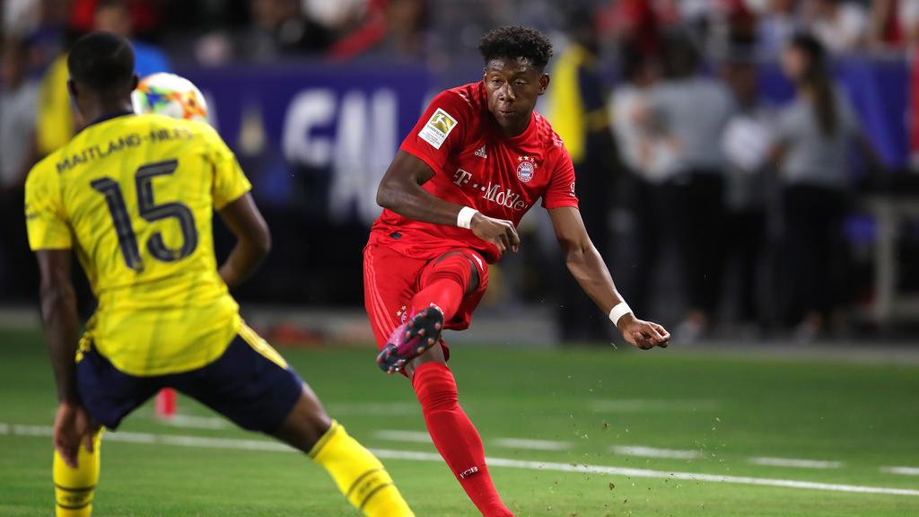 Bayern-Star David Alaba ist Fan des FC Arsenal