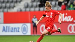 Linda Dallmann vom FC Bayern fordert ihre Follower heraus