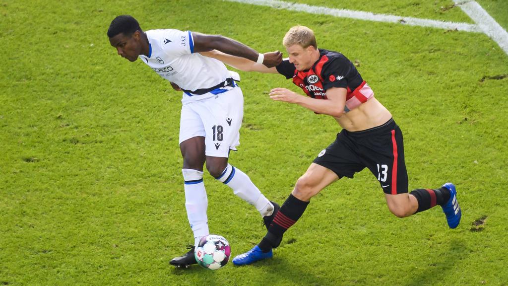 Arminia Bielefeld gelingt Achtungserfolg gegen Eintracht Frankfurt