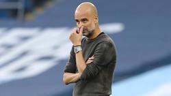 Pep Guardiola kam mit Manchester City mächtig unter die Räder