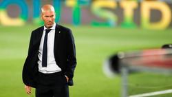 Steht bei einer Pleite gegen Gladbach vor dem Aus bei Real Madrid: Zinédine Zidane