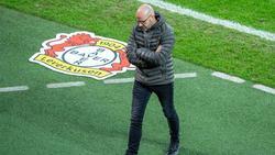 Nimmt sein Team in die Pflicht: Bayer-Coach Peter Bosz