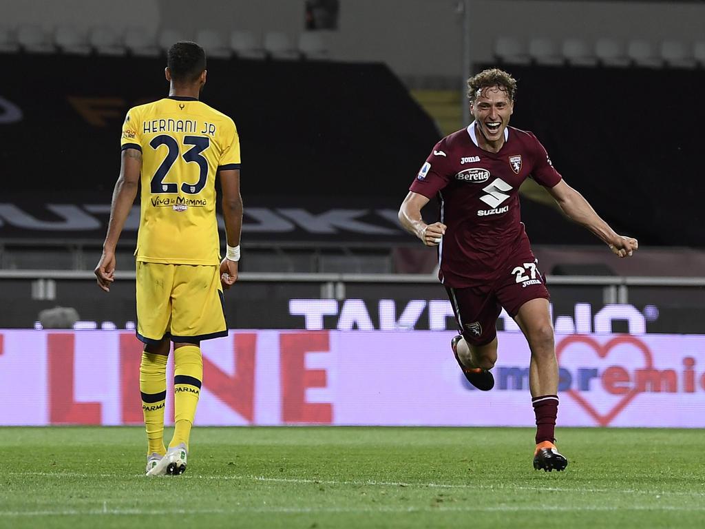 Mërgim Vojvoda schoss Parma in die Serie B