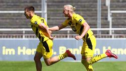 Kolbeinn Birgir Finnsson (r.) wird den BVB wohl verlassen