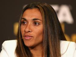 Marta beim der Ballon d'Or Gala 2013