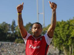 Pardo con la camiseta del Sporting de Braga en la final de la Copa. (Foto: Imago)
