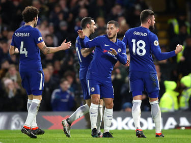 Hazard brilló con un doblete ante el West Brom. (Foto: Getty)