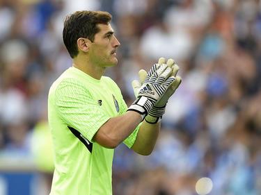 Casillas podría dejar el Oporto con el título liguero después de tres temporadas en Portugal. (Foto: Getty)