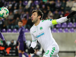 Ist weiter für Zweitligist Greuther Fürth am Ball: Marco Caligiuri